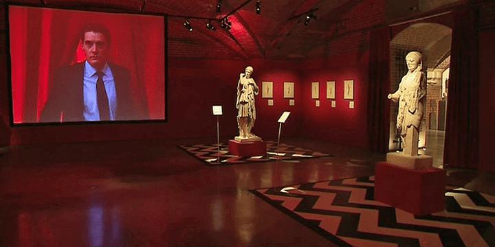 """""""Twin Peaks"""" célèbre série de David Lynch au musée des Beaux arts de Lille dans le cadre de la manifestation Open Museum  (France 3 / Culturebox )"""