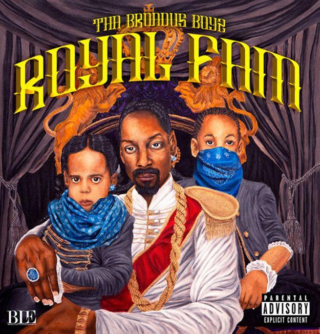 """La pochette de """"Royal Fam"""", l'album de Tha Broadus Boyz.  (DR)"""