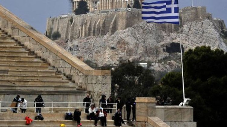Les tribunes des stades en Grèce sont désertes