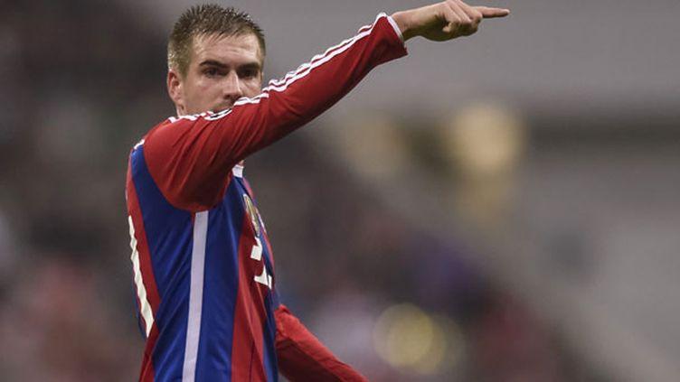 Le défenseur allemand Philipp Lahm