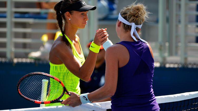 Une enquête est ouverte sur le 1er tour entre Bacsinszky et Diatchenko à l'US Open (ALEX GOODLETT / GETTY IMAGES NORTH AMERICA)
