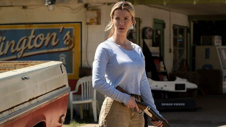 """L'actrice Betty Gilpin dans """"The Hunt"""". (UNIVERSAL PICTURES)"""