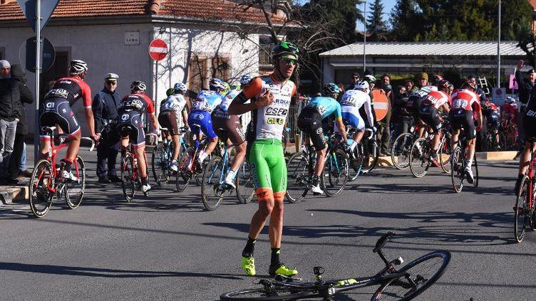 L'Italien Luca Wackermann a remporté la 2e étape du Tour du Limousin.  (DE WAELE TIM / TDWSPORT SARL)