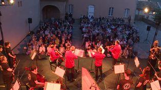 Le Quatuor Debussy en concert à Privas (Ardèche). (CAPTURE D'ÉCRAN FRANCE 3 / O. MOREL)