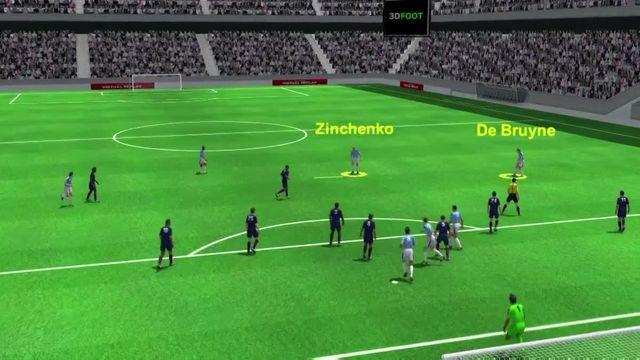 VIDEO. PSG-Manchester City (1-2) : le but de De Bruyne analysé en 3D par notre consultant Eric Roy