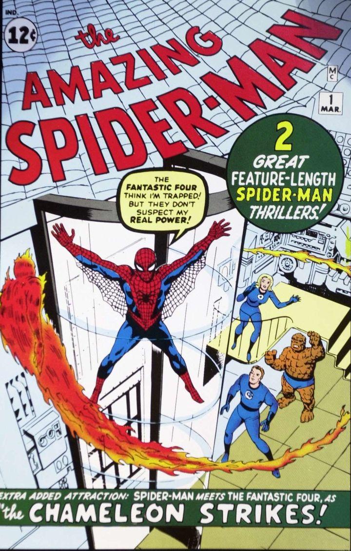 "Premier ""Spider-Man"", mars 1963.  (FRANCES M. ROBERTS/NEWSCOM/SIPA)"