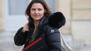 La ministre des Sports Roxana Maracineanu à l'Élysée. (LUDOVIC MARIN / AFP)