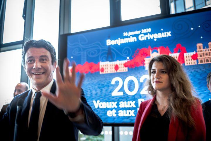 """A Paris, la secrétaire d'Etatchargée de l'Egalité entre les femmes et les hommes, Marlène Schiappa, sera candidate dans le 14e arrondissement """"pour soutenir Benjamin Griveaux"""". (NICOLAS MESSYASZ / SIPA)"""