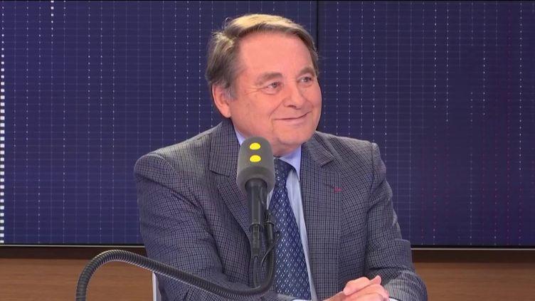 André Laignel, maire d'Issoudun (Indre) et vice-président de l'Association des maires de France (AMF). (FRANCEINFO / RADIOFRANCE)