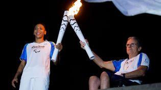Après les JO, Rio rallume la flamme pour les XVe Jeux paralympiques d'été (MAURO PIMENTEL/AP/SIPA / AP)