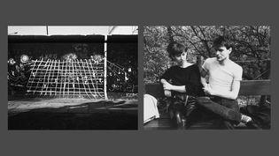 """Michael Schmidt : à gauche, Sans titre, """"Waffenruhe"""" [Cessez-le-feu], 1985-87 - à droite, Sans titre, """"Berlin-Kreuzberg. Stadtbilder"""" [Berlin-Kreuzberg. Vues urbaines], 1981-82 (© Foundation for Photography and Media Art with the Michael Schmidt Archive)"""