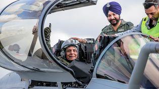 Le premier avion Rafale avait été livré à l'Inde le 18 octobre 2019. (BONNAUD GUILLAUME / MAXPPP)
