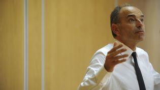 Jean-François Copé, le 14 septembre 2016 à Quimper (Finistère). (FRED TANNEAU / AFP)