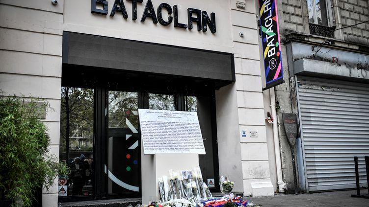 La salle du Bataclan le 13 novembre 2019, quatre ans après les attentats à Paris et Saint-Denis (STEPHANE DE SAKUTIN / AFP)