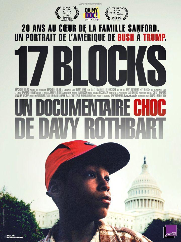 "Affiche du film ""17 Blocks"" de Davy Rothbart, 2020 (Film 17 Blocks)"