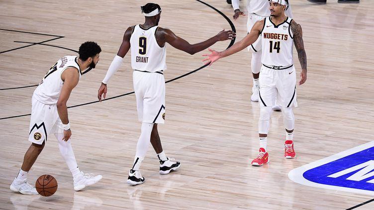 Les Nuggets ont égalisé dans la série contre les Clippers. (DOUGLAS P. DEFELICE / GETTY IMAGES NORTH AMERICA)