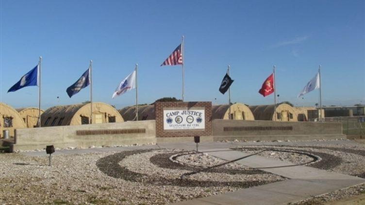 L'entrée du centre de Guantanamo (AFP)