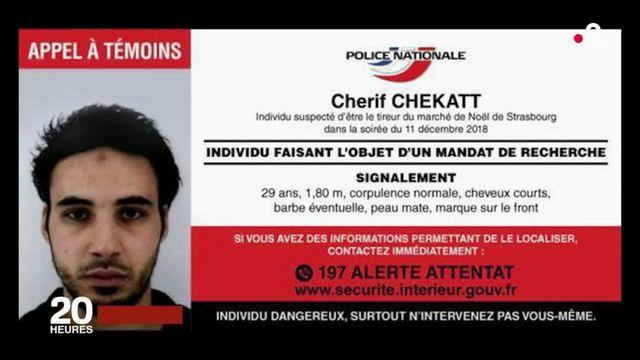 Attentat à Strasbourg : la traque de Chérif Chekkat