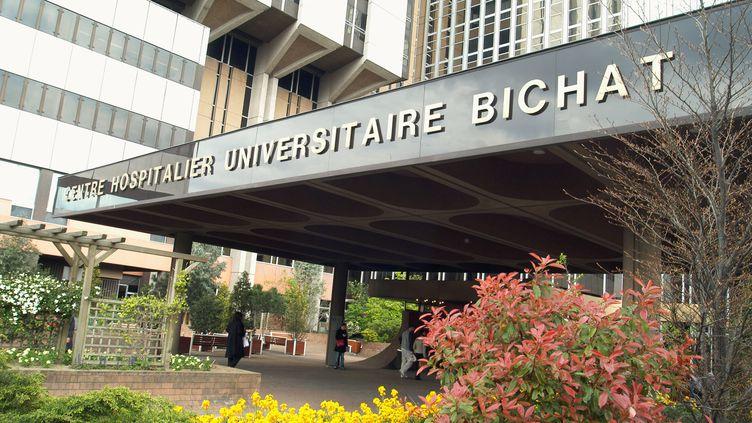 Le patient parisien atteint du coronavirus est hospitalisé à Bichat. (HUMBERT / AFP)