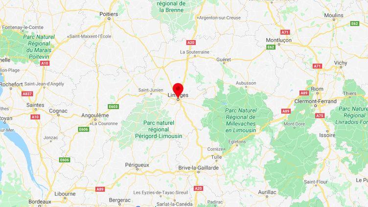 Limoges. (GOOGLE MAPS)