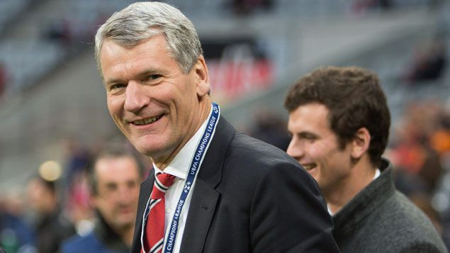 (L'Anglais David Gill, futur vice-président de la Fifa, ne compte pas siéger si Joseph Blatter est réélu vendredi © MAXPPP)
