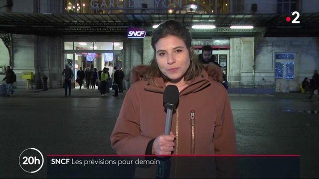 Grève à la SNCF : les prévisions de trafic pour jeudi 19 décembre