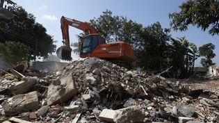(Les habitations ont été détruites à Vila Autodromo © BARBARA WALTON/EPA/MaxPPP)