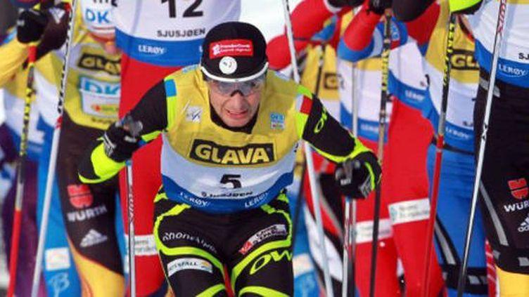 Au départ du ski de fond, Jason Lamy-Chappuis