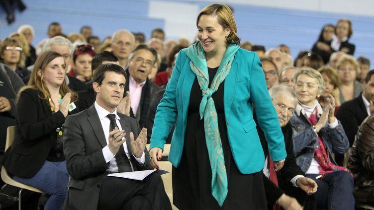Elsa Di Meo, la candidate socialiste à Fréjus (Var). (  MAXPPP)