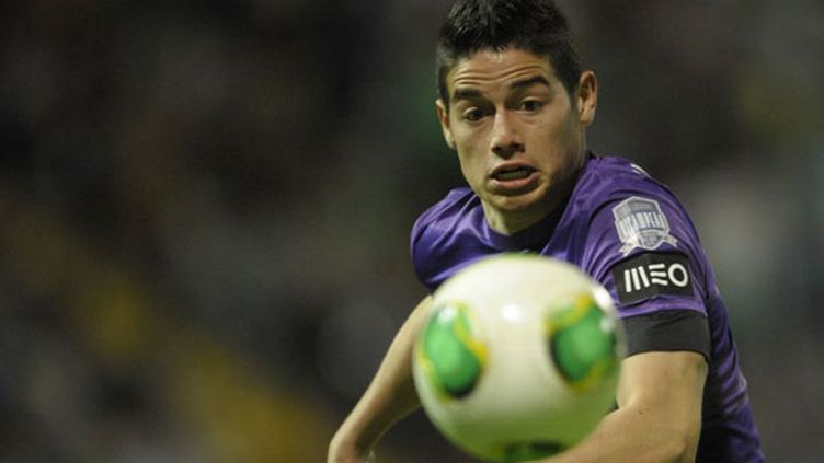 L'ailier colombien James Rodriguez à l'époque où il évoluait au FC Porto