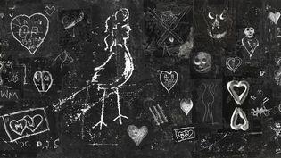 """Brassaï, Maquette originale pour la réalisation de la tapisserie """"Nocturne"""", 1968-1972 (collage d'épreuves gélatino-argentiques peintes), Collection Centre Pompidou, musée national d'art moderne, Paris  (Estate Brassaï - RMN-Grand Palais © Centre Pompidou/Dist. RMN-GP/ Georges Meguerditchian)"""