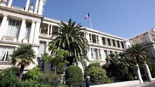 La préfecture des Alpes-Maritimes, à Nice, le 10 octobre 2008. (FRANCK FERNANDES / MAXPPP)