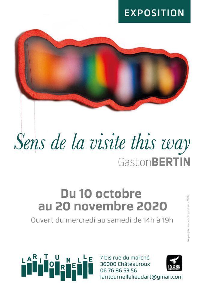 Affiche de l'exposition (Gaston Bertin / La Ritournelle)