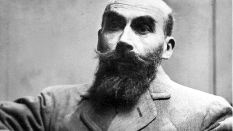 Henri-Désiré Landru en novembre 1921, lors de son procès à Paris. (AFP)