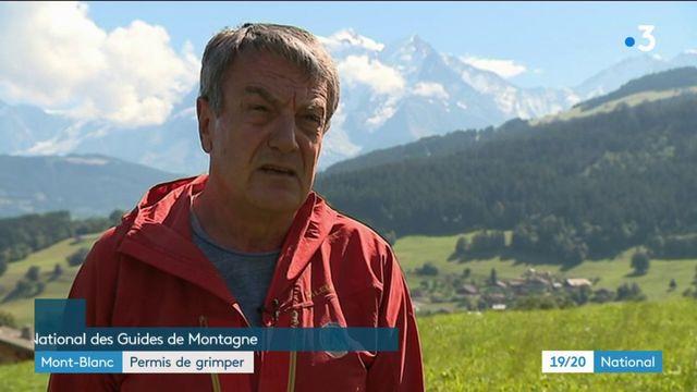 Mont-Blanc : permis de grimper