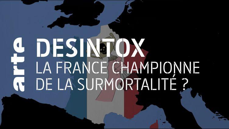 Non, la France n'a pas été le pays le plus touché par le Covid-19 en Europe (ARTE/2P2L)