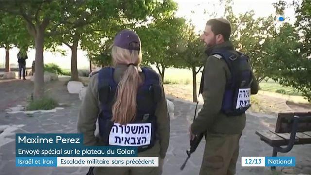 Syrie : l'armée israélienne cible des bases iraniennes