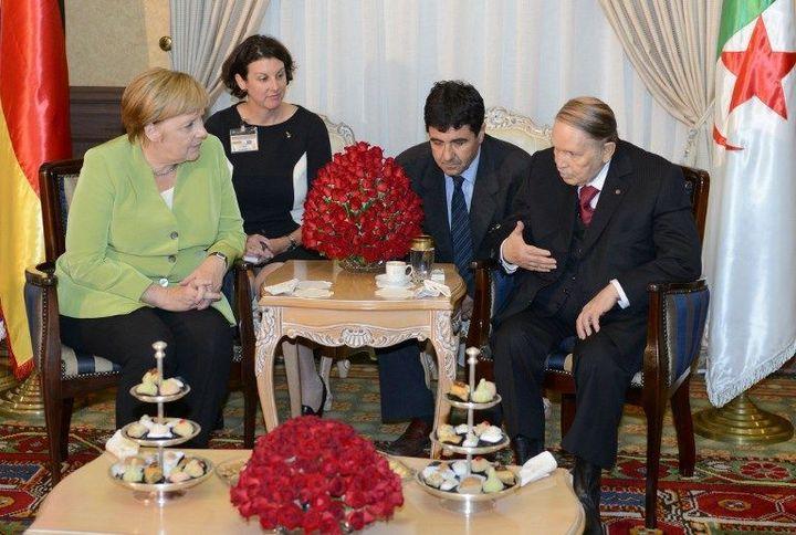 Le 17 septembre 2018, le président Bouteflika a reçu la chancelière allemande Angela Merkel. (AFP photo/APS)