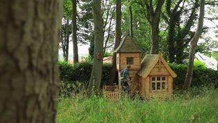 Royaume-Uni : construire sa propre cabane de jardin (France 2)
