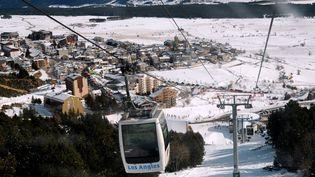 Vue de la station de ski des Angles (Pyrénées-Orientales), en 2010. (MAXPPP)