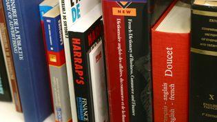 Dictionnaires de traduction. Photo d'illustration. (HOUET  MICHEL / MAXPPP)