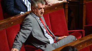 Jean Lassalle, député, à l'Assemblée nationale, le 4 juin 2019. (LUCAS BARIOULET / AFP)