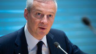 Bruno Le Maire, le 12 avril 2019 à Washington (Etats-Unis). (SAUL LOEB / AFP)