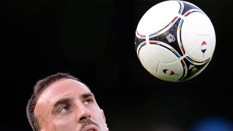 Franck Ribéry au milieu des Madrilènes