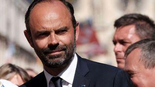 Le Premier ministre, Edouard Philippe, à Orléans, le 8 mai 2018. (RAPHAEL BLOCH / POOL)