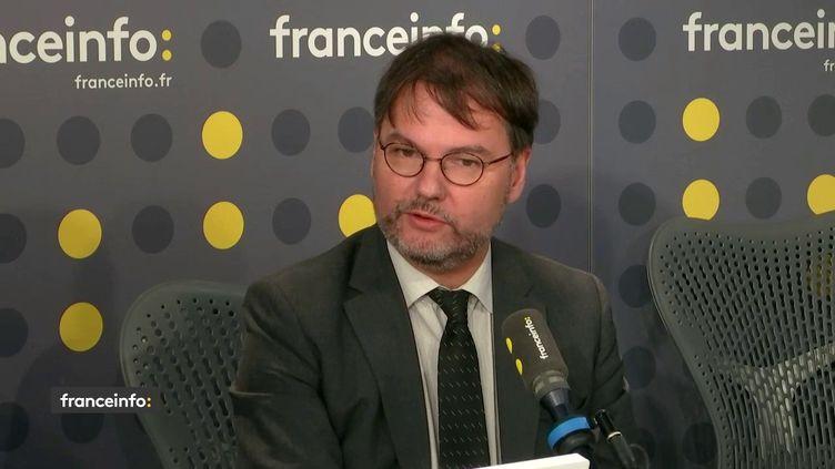 Guillaume Vuilletet, député du Val d'Oise, invité de la matinale de franceinfo (FRANCEINFO)
