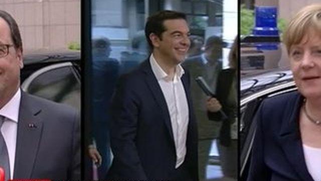 L'Europe attend les propositions de la Grèce