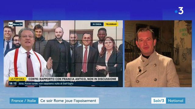 France-Italie : Rome joue l'apaisement