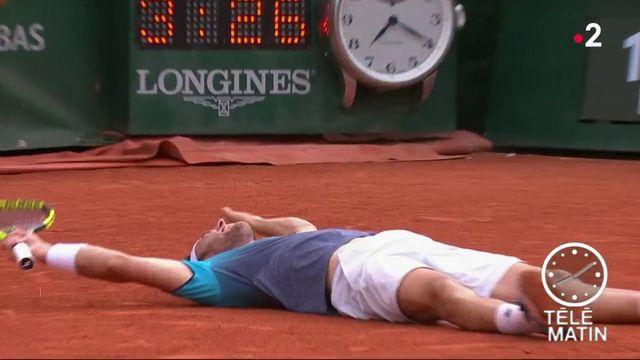Roland-Garros : Djokovic éliminé par Cecchinato, 72e mondial