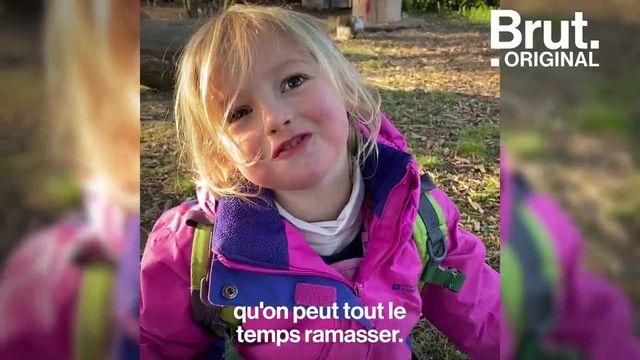 Ici, les enfants apprennent au contact de la nature dès le plus jeune âge. Leur crèche, c'est la forêt. Pendant ce temps-là, près de Genève...